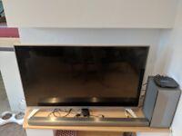 LG 50 inch Smart TV, SOUND BAR + SUBWOOFER