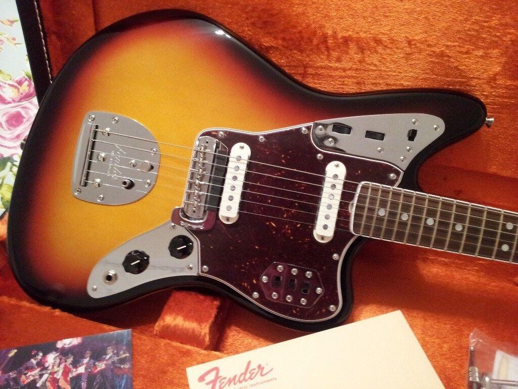 fender 65 jaguar american vintage reissue usa electric guitar stratocaster telecaster jazzmaster. Black Bedroom Furniture Sets. Home Design Ideas