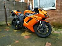 KAWASAKI ZX6R, P7F, 636, NINJA, GOOD CONDITION, GREAT EXAMPLE