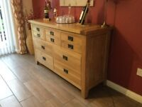 Solid Oak Sideboard
