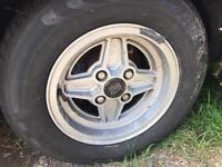 Ford Capri wheels x4 with tyres