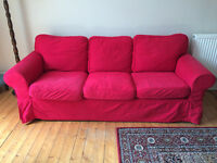 IKEA Ektorp Three Seater Sofa.