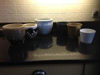 6 indoor plant pot holders