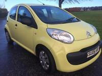 CITROEN C1 VIBE 1 LITRE £20 TAX FOR YEAR £1100