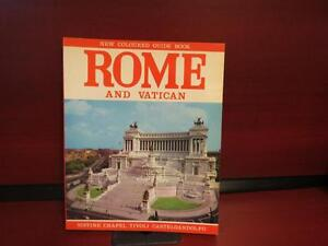 Rome And Vatican New Coloured Guide Book Paperback
