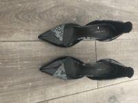 Black Zara shoes 36