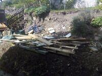 Large Pile of Scrap Wood