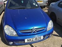 2004 citreon xsara, 1.4 petrol, breaking for parts only, all parts available