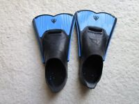 Flipper size 12-13 kids (blue/black)