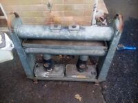Eltex greenhouse parafin heaters 1 quad burner and 1 dual burner