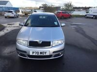 Skoda Fabia 2007 automatic 1.4 petrol, 1 previous owners