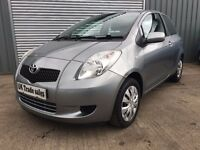 2008 TOYOTA YARIS 1.0 T3 3dr *** FULL YEARS MOT ***