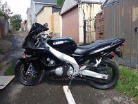 Yamaha thundercat 600 motorbike
