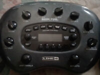 Line 6 Pod XT Bass Multi Effects And Amp Modelling.