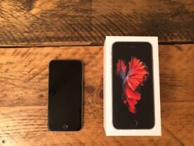 iPhone 6s 64gb Space Grey with charger and box - Unlocked.