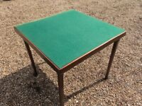 Folding Card Tables