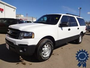 2016 Ford Expedition Max 4x4 - 21,633 KM, 3.5L V6, Backup Camera