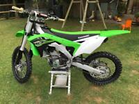 KAWASAKI KXF250 only 20 hours from new