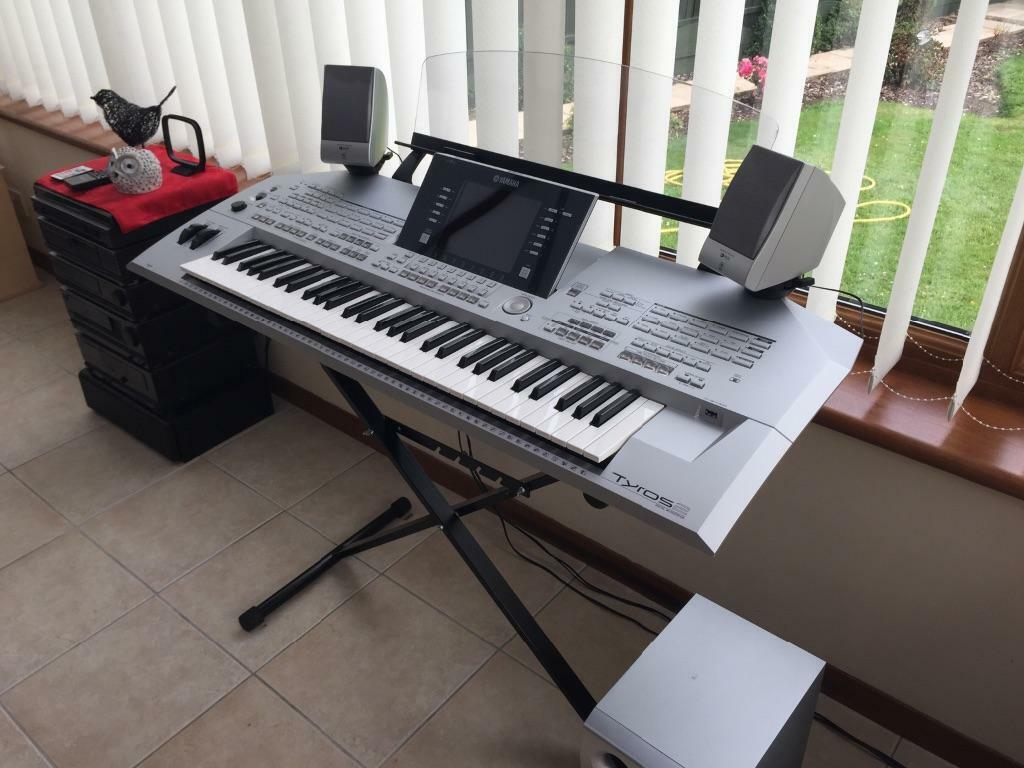 Yamaha Tyros 2 Keyboard In Chaddesden Derbyshire Gumtree