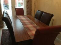 Dining Room Table Chairs And Matching Sideboard