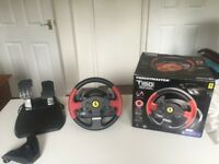 Thrustmaster T150 Ferrari Edition Racing Wheel for PS3/PS4
