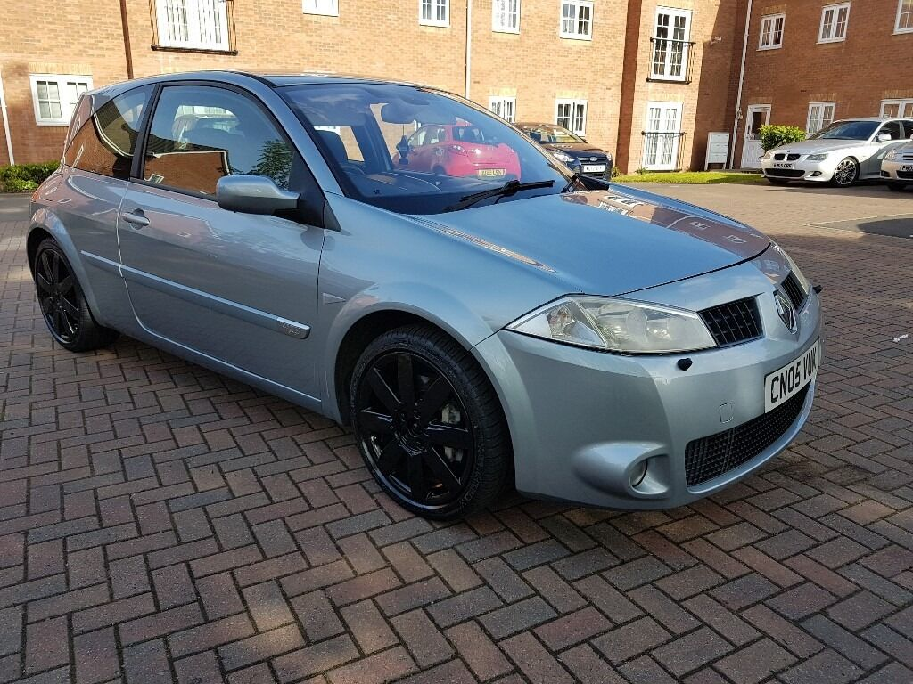 2005 renault megane rs 225 sport 2 0 turbo 79k 3dr cupra r st type r gti tdi 330d vxr 197 182. Black Bedroom Furniture Sets. Home Design Ideas