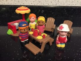 ELC Happyland Rose Garden BBQ Playset - RARE - Can post if preferred