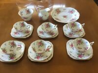 Vintage New Chelsea Fine Bone China 21pce Tea Service