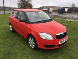 09 REG SKODA FABIA 1.2 HTP 12V 1 5DR-FULL HISTORY-NEW CLUTCH-GREAT LOOKING CAR DRIVES WELL