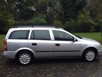 VAUXHALL ASTRA 1.7 TURBO DIESEL ESTATE 2004 MOT 7 MONTHS A CLEAN RELIABLE CAR CHEAP TO TAX