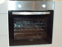 Lamona Integrated Fan Assisted Electric Oven With Grill & Gas Hob - Used 3 Months Only - Immaculate