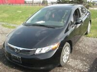 2012 Honda Civic A/C A VENIR