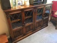 Oak Bookcase (Webber Furniture)