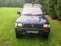 Wanted 4x4/2wd diesel Japanese pickups (hilux, l200, ranger, isuzu, brava)