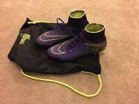 Nike Hypervenom Phelon II FG Grape/Black/Volt
