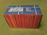 The Complete James Bond Collection - 14 books - Vintage Collection