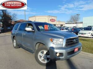 2011 Toyota Sequoia LEATHER-SUNROOF-4WD-CAM-DUAL DVD