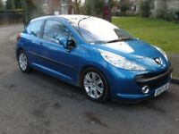 Peugeot 207 Diesel, 1.6 HDI 110 Sport 3 Dr Hatchback, Tax £110 annual Low Insurance
