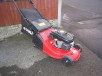 Sanli LSP480 Petrol Lawnmower Rear Roller Self Propelled Fully Serviced Large 48cm Cuttiing Width