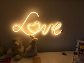 Next Love Light sign