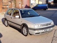 1996 VW GOLF GTI MK3 2.0 PETROL, CLASSIC CAR, GOOD CONDITION FOR YEAR, EXCELLENT FOR THE PROJECT !!