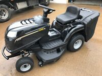 "38"" ALPINA TWINCUT CASTELGARDEN RIDE ON TRACTOR LAWNMOWER"