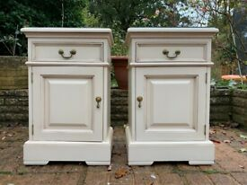 Gorgeous Pair of YP Furniture Country House Bedside Cabinets – Great Condition
