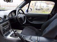 Mazda mx5 sports car for sale in Didcot Oxfordshire.Metallic Blue.64k miles.mot to june 16.