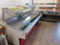 2x Commercial display butcher meat fridge
