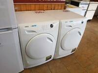 Lindo dryer ex display white 8 kg condenser WITH warranty