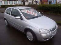 Vauxhall Corsa design twinport,3 door hatchback,full MOT,very clean tidy,well looked after,YF06FAU