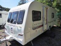 BAILEY UNICORN VALENCIA 2011 4 BERTH CARAVAN *FIXED BED* REMOTE MOVER,EXTRAS