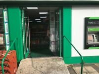 Convenience store business for sale, large double shop