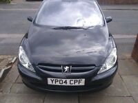 Peugeot 307 1.4 diesel, £ 30 Road tax , low insurance